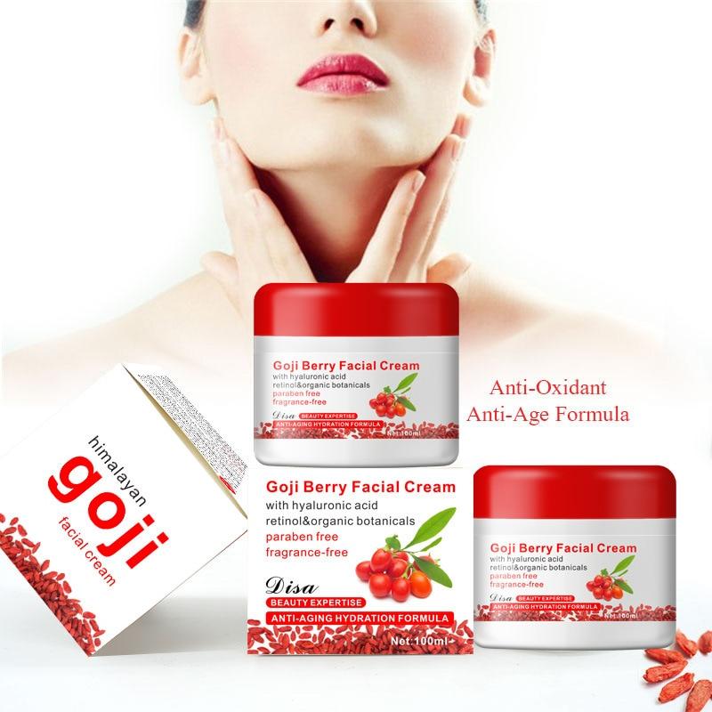 Aichun Goji Face Cream Anti-Aging Effect Anti Wrinkle Skin Care Moisturizing Facial Care Cream 100ml shrink pores oil control