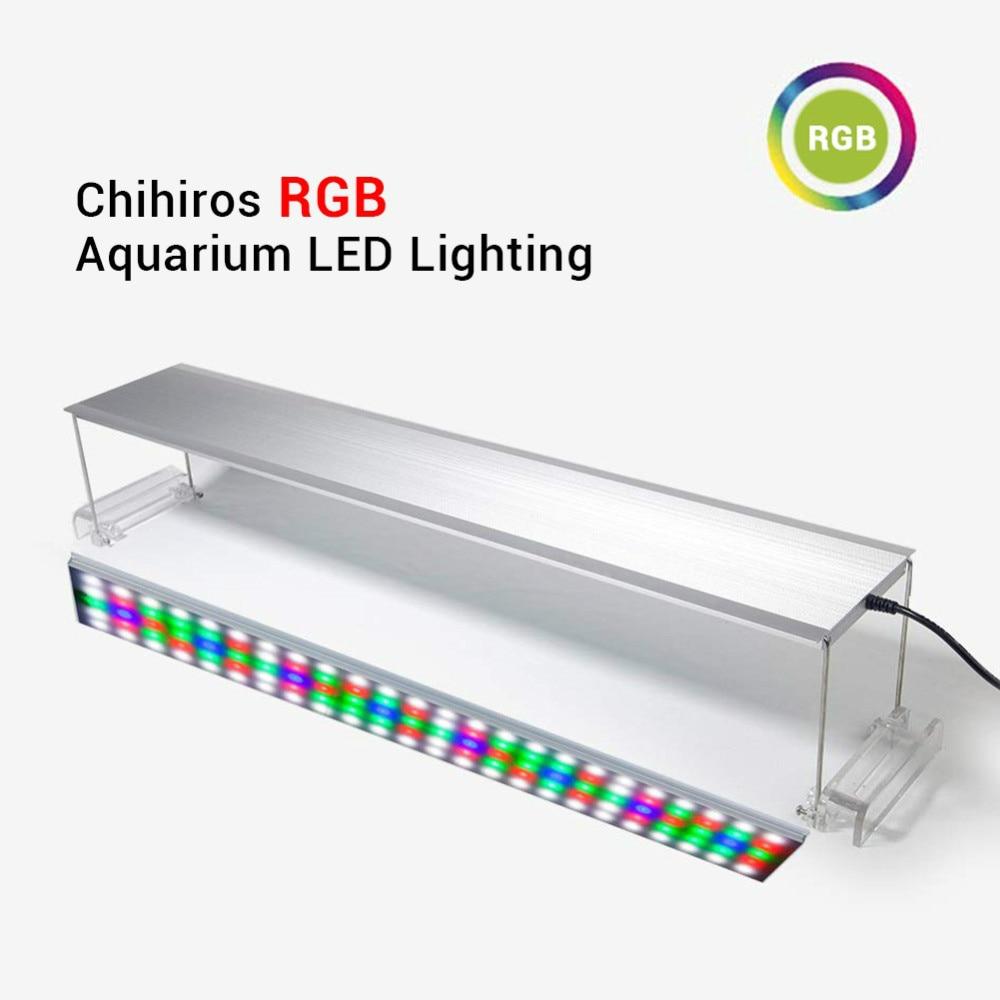 Chihiros RGB Aquarium LED Light Full Spectrum Lighting For Aquatic Plant Brightness Adjustable For 30-120cm Tank