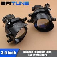 3.0'' Waterproof Bi xenon Fog Lights Lens Lamps Hi/Lo H11 HID Xenon For Toyota/Corolla/Camry/Lexus Cars Retrofit Replacement