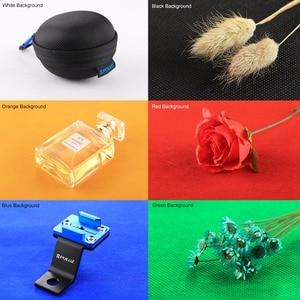 Image 3 - PULUZ 20cm Mini Studio Diffuse Soft Box Lightbox 2 LED Panels 1100LM Light Tabletop Shooting Photo Studio Box 6 Color Backdrops