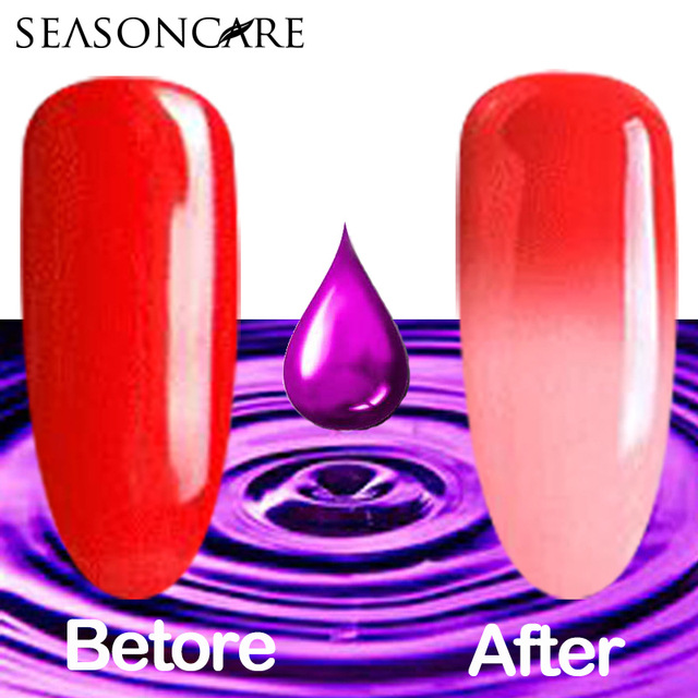 SEASONCARE beauty pure Healthy brand-Lavander extracted Soak Off 10ml Gel Polish change color NATURAL SMELL