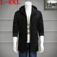 Plus Size 8XL 7XL6XL 5XL Jacket Military Tactical Men Jacket Lurker Shark Skin Soft Shell Windproof