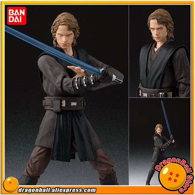 """Starwar Episode 3: Revenge of the Sith"" Original BANDAI Tamashii Nations S.H. Figuarts / SHF Action Figure - Anakin Skywalker"