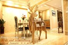 Large Elk shape Book shelf living room decoration table