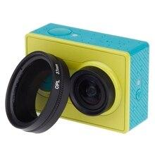 Профессиональный 37 мм CPL круговой поляризатор фильтр объектива для xiaomi Yi Спорт экшн-камеры xiaomi xiaoyi ants yi камера