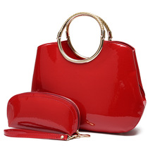 Women Handbag Patent Leather Crocodile Crossbody Bags Brand Tote Fashion Women Bags Clutch Shoulder Bag Bolsas