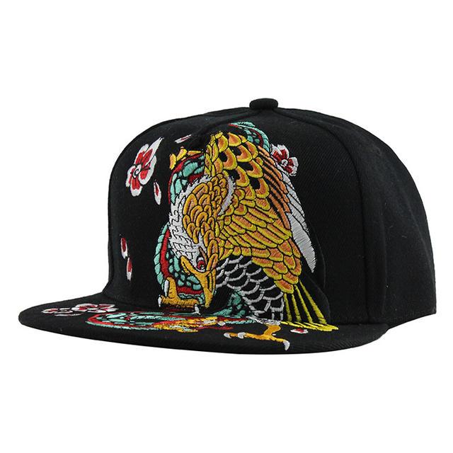 Hip Hop Men's Embroidered Baseball Cap