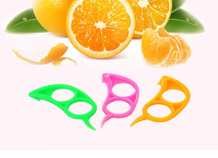 Eplucheur Zester détartreur Orange citron coupe fruits coupe coupe ouvreur Orange poivron Cutter détartreur cuisine ustensile dissolvant dispositif