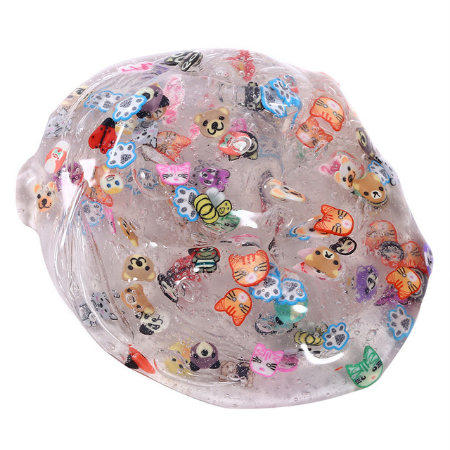 Antistress Clear Plasticine Slime Toy