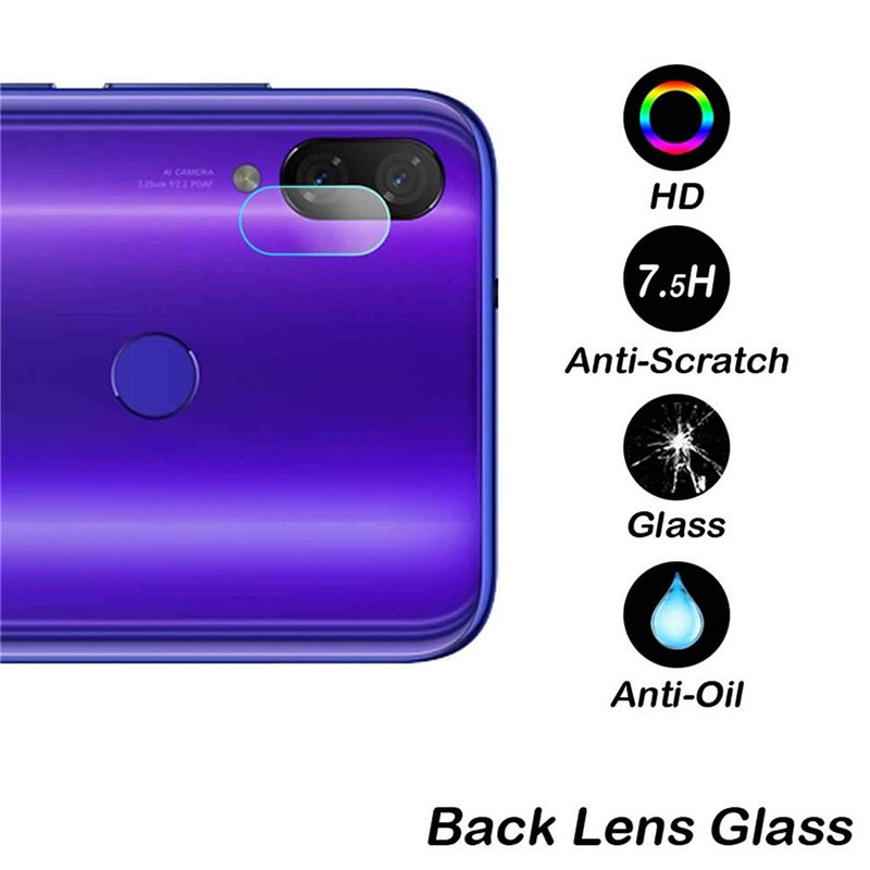Image 5 - 2 In 1 Screen Protector For Redmi Note 7 Camera Glass Tempered Protective Film For Xiaomi Redmi Note 7pro Glass Phone 7A 5plus-in Phone Screen Protectors from Cellphones & Telecommunications