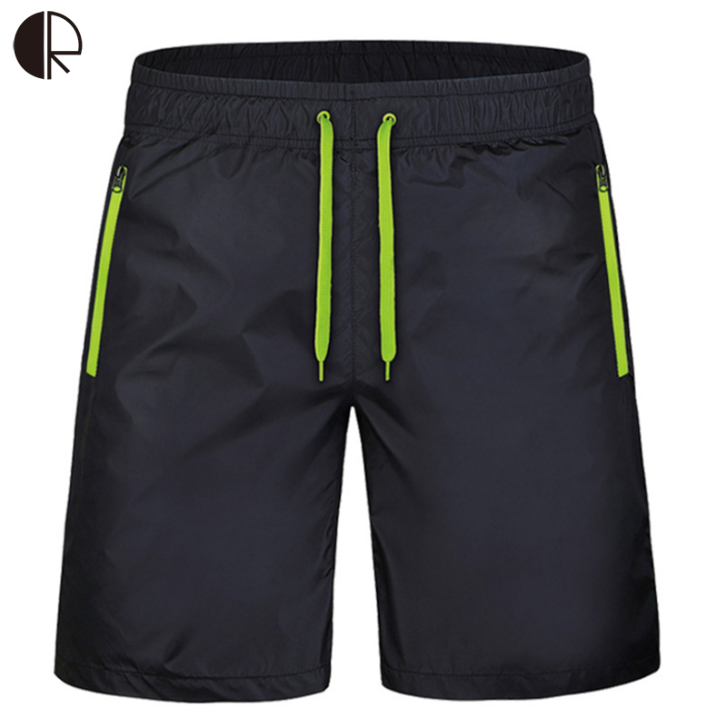 New Arrive 2016 Summer Men s Quick drying Shorts Men solid Casual Knee length Trousers Men