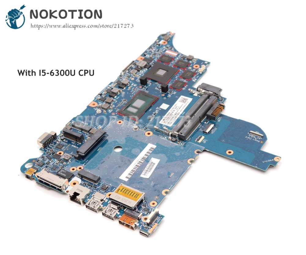 NOKOTION 916828-601 916828-001 For HP Probook 640 <font><b>650</b></font> G2 Laptop Mothebroard CLOOENY-6050A2860101-MB-A01 SR2F0 <font><b>I5</b></font>-6300U CPU image