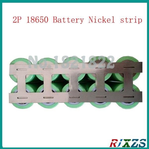 1M 2P 0.15x18.5mm nickel tab 18650 welding nickel strip welding nickel plated tab for 18650 batteries