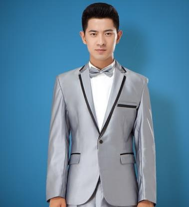 Mens Blazer Jacket Formal Dress Latest Coat Pant Designs Suit Men Costume Terno Masculino Marriage Wedding Suits For Men's Grey