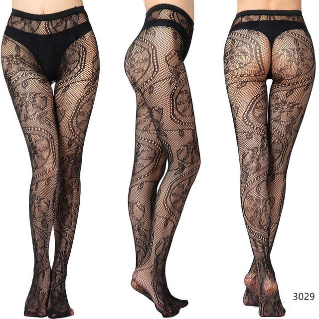 DOIAESKV Plus Size Tights Women Sexy Erotic Lingerie Pantyhose Sex Body Stockings Large Size Tights Sexy Women Fishnet Pantyhose 2