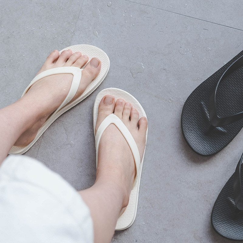 Unisex Beach Flip Flops 2019 Summer Flat Shoes Woman Indoor Outdoor Slippers Non-slip Sole Female Slip On Flip Flop Sandals