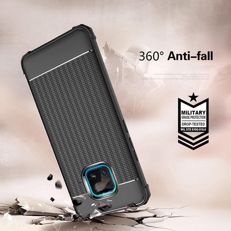 For Huawei mate 20x pro case cover For mate 20 lite Sturdy wear resistant shatter resistant soft TPU phone case For 20x case in Fitted Cases from Cellphones Telecommunications