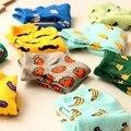 Cómodo Estilo Japonés Harajuku Masculino y Femenino Par de Calcetines del Barco Calcetines de Algodón de Alta Calidad