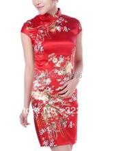 Shanghai Story Short Qipao cheongsam dress summer vintage women's sexy cheongsam dress mandarin qipao 3 color