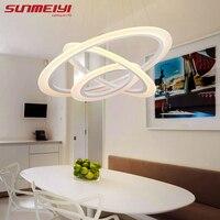 2016 Modern LED Pendant Lights For Living Room Lamparas De Techo Indoor Lamp Light Fixture Luminaires