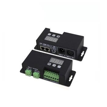 1X RGBW 4channels wall washer lighting DMX512 decoder DC12-48V 350mA input free shipping
