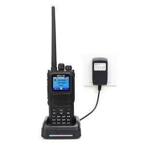 Image 2 - Retevis, 5W, RT84, DMR, Digital/Walkie, parlanchín analógico, doble banda, Radio de mano de 3000 canales, Ham, transmisor de Radio Ameur + Cable de programación