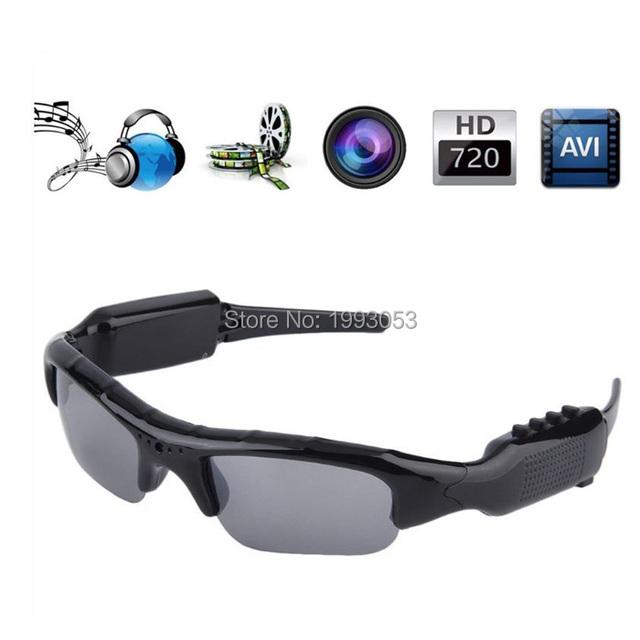 8 GB Mini HD Cam óculos de Sol Óculos Óculos Gravador de Vídeo Digital Mini Câmera de Vídeo de Vidro Tecnologia De Óculos De Sol