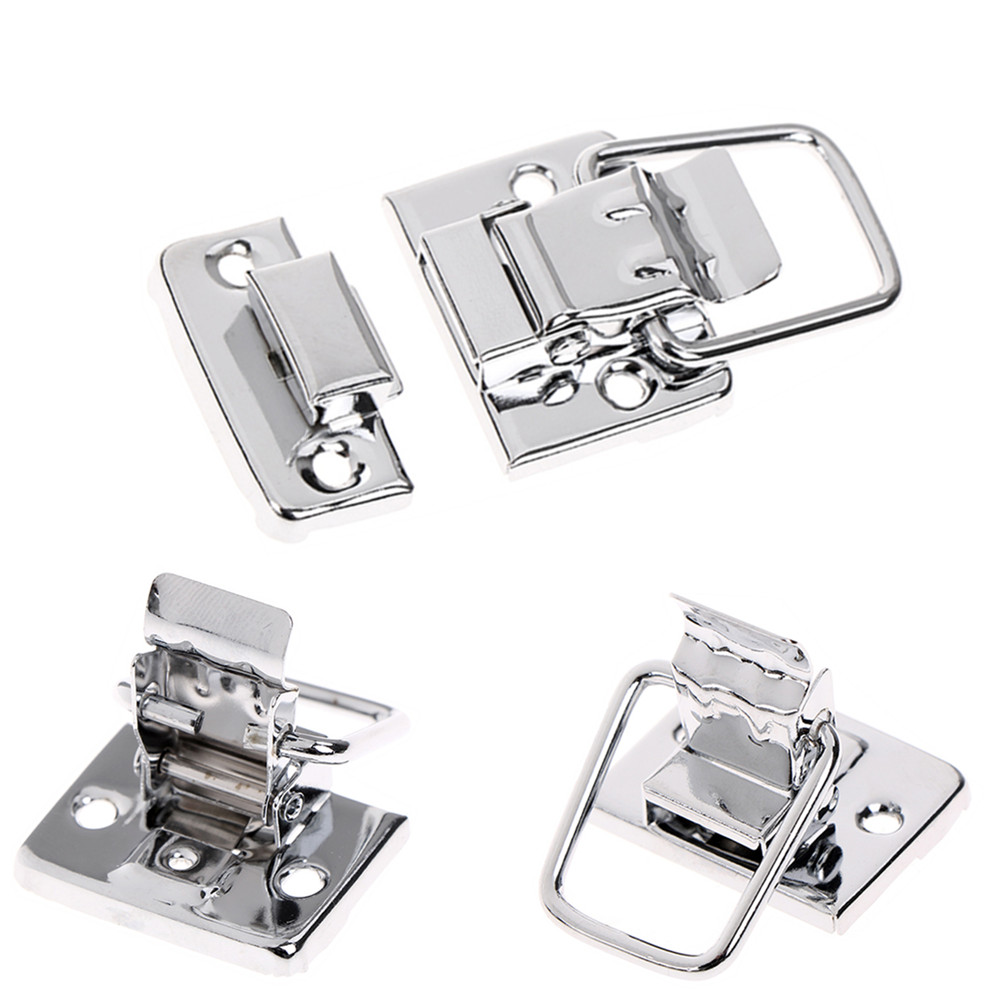 1PC / 5PCS / 10PCS Stainless Steel Chrome Toggle Latch For Chest Box Case Suitcase Tool Clasp Simply Lift The Pull Arm To Open1PC / 5PCS / 10PCS Stainless Steel Chrome Toggle Latch For Chest Box Case Suitcase Tool Clasp Simply Lift The Pull Arm To Open