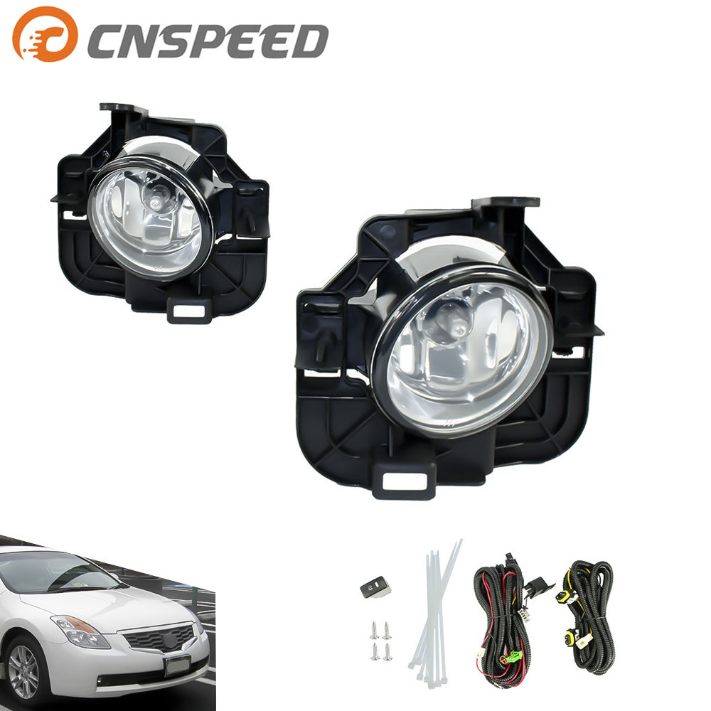 CNSPEED Fog light for NISSAN ALTIMA 2008-2009 fog lamps Clear Lens Bumper Fog Lights Driving Lamps Daytime Running light ip камера hikvision 300 icr ds 2cd2332 d i