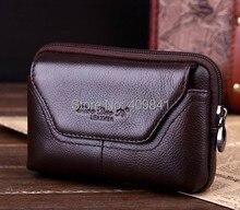 Чехол Inew V3 кожа, 100% подлинная ручной ремень сумка кроссовер талия для 5,0 inch мешок с вкладыш(China (Mainland))