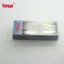 6pcs/lot yapada spoon bait fishing 2g/33mm 3g/38mm metal jig lures isca artificial fishing bait spinners trout ice winter