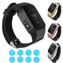 D99 Смарт-часы Водонепроницаемый пожилых трекер SmartWatch GPS LBS + WiFi Предметы безопасности Anti-Потерянный локатор часы для Android iOS смартфон