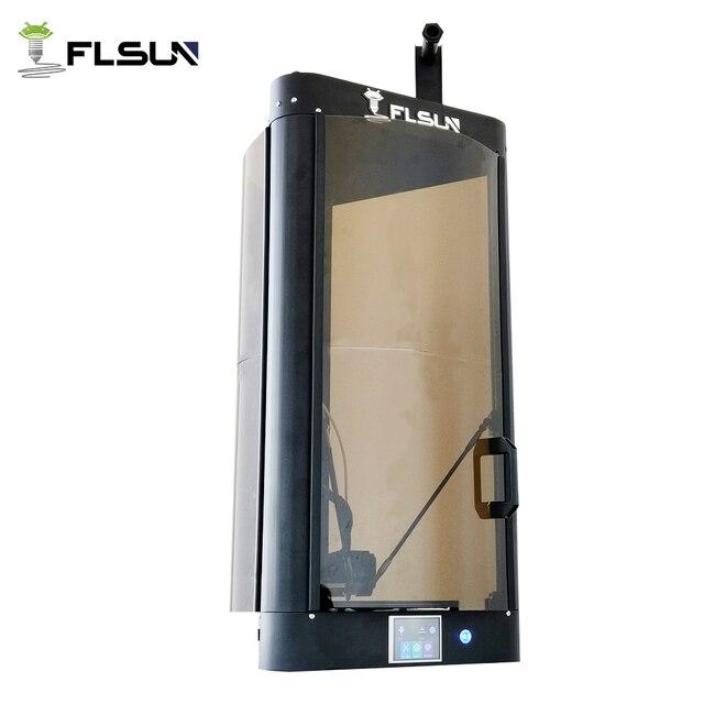 2019 FLSUN QQ-S גבוהה מהירות דלתא 3D מדפסת, גדול הדפסת גודל 255*360mm kossel 3d-Printer אוטומטי פילוס מגע מסך Wifi מודול