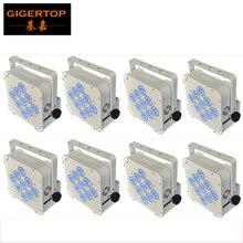 Hi-Chất Lượng 8 cái/lốc 9x18 W 6in1 RGBWA   UV Pin Không Dây Phẳng LED Mệnh Đèn DMX 512 Pin Đèn LED Mệnh Đèn Hi-Chất Lượng Ngang Hàng