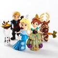 Дисней Замороженные Дети Персонализированные Рождественские Подарки Аниме Снег Кукла Приключения Эльза Анна Принцесса Цифры Игрушки для Детей Кукла