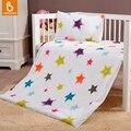 Baby bedding set 100% algodão little star crianças cama duvet cover & fronha sem preencher fc2k007
