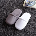 Hotel supplies non disposable luxury male female slippers home bedroom massage house indoor plush platform cotton women man warm