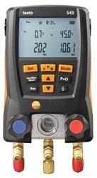 Refrigerantion Serviço Calibre Manifold Calibre 549 Frigorifico Digital Medidor de Medição Precisa Do Sistema HVAC Testo 0560 0550/Mangueiras