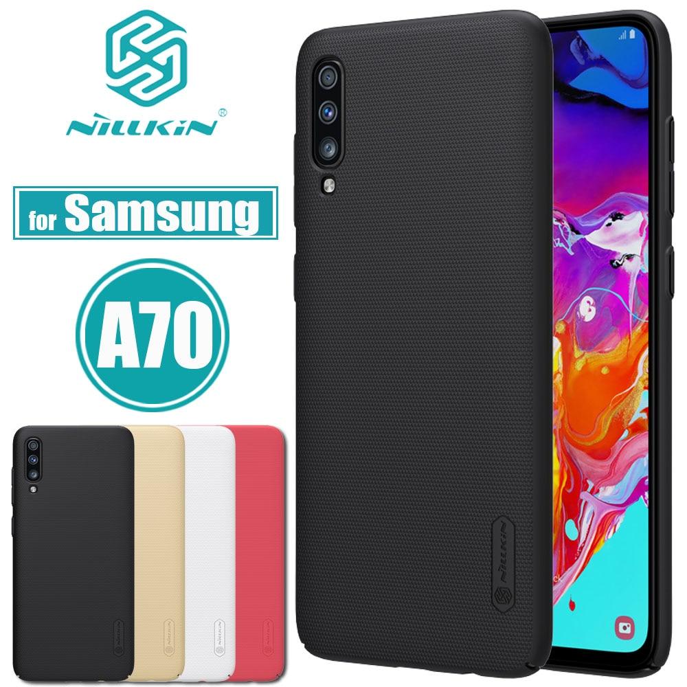 Купить Nilkin для samsung Galaxy A70 кейс чехол матовый Жесткий Пластик Бизнес смартфон назад футляры для samsung A70 Капа на Алиэкспресс
