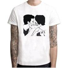 Gay Kiss Love Is Love T-Shirt Men/Women