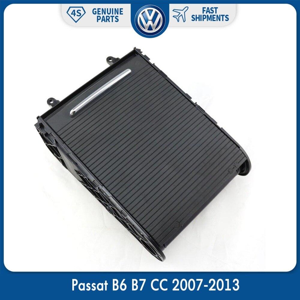 OEM Noir Boisson De Voiture Accoudoir Central Console Porte-Gobelet pour VW Volkswagen Passat B6 B7 CC 2007-2013 3CD 858 329 Un 95 t