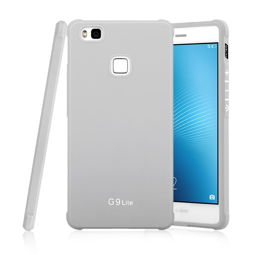 Για Huawei P9 Lite Case Πολυτελές Carbon Fiber Soft - Ανταλλακτικά και αξεσουάρ κινητών τηλεφώνων - Φωτογραφία 3