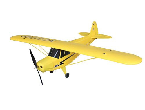 Dynam 1070mm Piper J3 Cub RC RTF Propeller Plane W/ Motor ESC Servos Battery TH03622