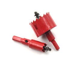 1 шт. из металла сверление отверстий Kit 16 мм-50 мм отверстия сверлом видел сверла резак Мощность toolCarpentry инструменты для дерева Сталь гладить