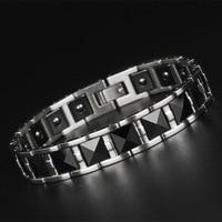 Tungsten Steel Ceramic Bracelet Male Korean Version of Popular Jewelry Color Jewelry