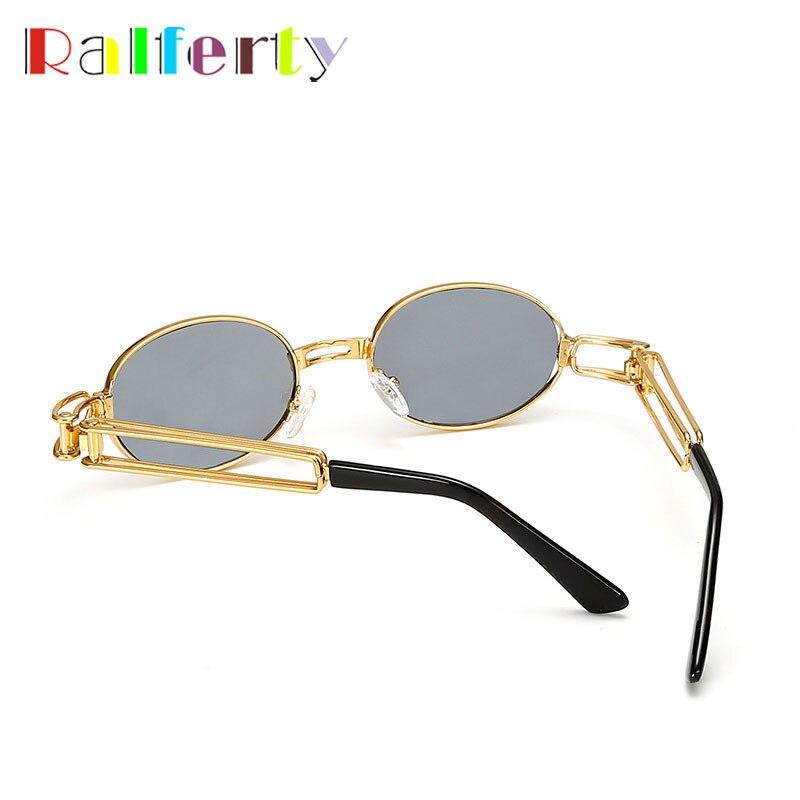 Souvent Ralferty 2017 Rétro Petites lunettes de Soleil Rondes Hommes Mâle  YV01