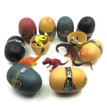 3D Динозавры яйца Новинка игрушка динозавр играть творческие развивающие игрушки Интерес Подарок динозавр домашнее животное случайный 4 штуки или 8 штук