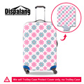 Dispalang fashion elastic 3D flower print luggage cover waterproof dustproof rain travel trolley suitcase covers for women girls