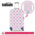 Dispalang moda elastic flor 3D imprimir bagagem mala trolley de viagem capa de chuva à prova de poeira à prova d' água cobre para as mulheres meninas