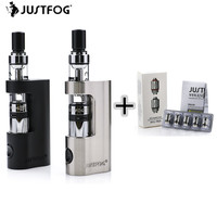 Iginal Justfog Q14 Compact Kit 900mah Justfog Q14 Coil Anti Leakage Starshield System Clearomizer Atomizer E